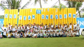 'ONE TEAM, ONE DREAM' TEAMBUILDING TTP 2015